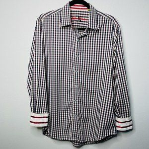 Robert Graham Button Down Shirt Size L